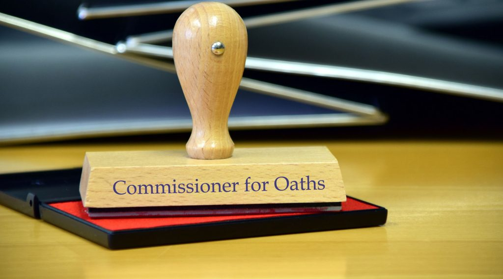 COMMISSIONERS-OF-OATH